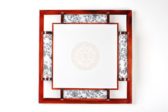 Chinese ceiling lamp Royalty Free Stock Images