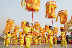 Chinese celebration parade Royalty Free Stock Photos