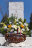 Chinese cemetery Stock Photos