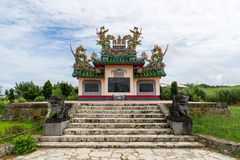 Chinese Cemetery in Ishigaki Island, Okinawa Japan Stock Photos