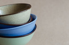 Chinese Ceramic Bowl. Chinese ceramic bowl is normal appliance in Asis kitchen Royalty Free Stock Image