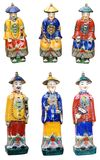 Chinese ceramic figurines Stock Image