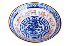 Chinese ceramic soup bowl Royalty Free Stock Photo
