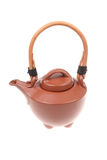 Chinese ceramic teapot Royalty Free Stock Photos