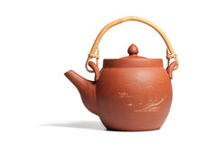 The chinese ceramic teapot Royalty Free Stock Image