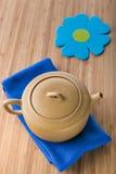 Chinese ceramic teapot Royalty Free Stock Image