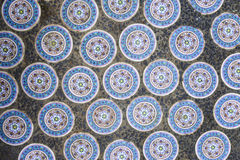 Chinese ceramic tiles Stock Image