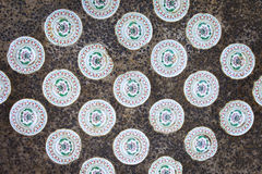 Chinese ceramic tiles Stock Images