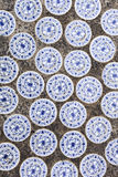 Chinese ceramic tiles Stock Photo