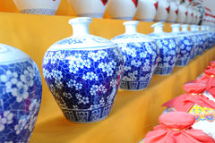 Chinese ceramic1. Chinese ceramic  various shapes and sizes Royalty Free Stock Photos