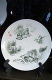 Chinese ceramics. Handicrafts, decoration products Stock Image