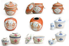 Chinese ceramics Stock Photography