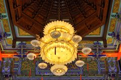 Chinese chandelier Royalty Free Stock Photo