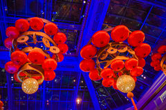 Chinese chandelier lanterns Stock Photography