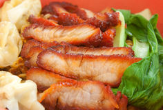 Chinese Char Siew Stock Image