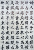 Chinese character background Royalty Free Stock Photography