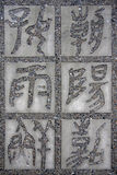 Chinese character calligraphy Royalty Free Stock Image