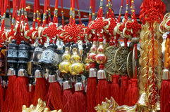 Chinese charms. Picture of chinese charms used for luck stock photography