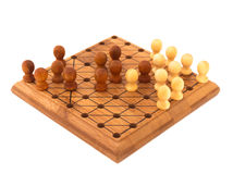 Chinese checkers Royalty Free Stock Photos
