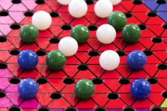 Chinese checkers Stock Photos