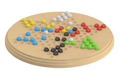 Chinese checkers game Stock Photography