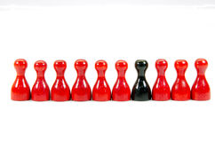 Chinese checkers Stock Photography