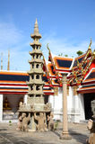 Chinese Chedi at Wat Pho, Bangkok. Royalty Free Stock Image