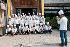 Chinese chef Royalty Free Stock Images