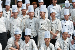 Chinese chef Stock Images