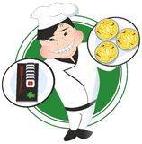 Chinese Chef Royalty Free Stock Image