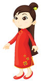 Chinese cheongsam Stock Photo