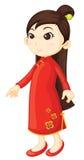 Chinese cheongsam Stock Photo