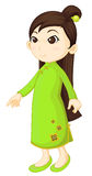 Chinese Cheongsam Royalty Free Stock Image