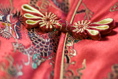 Chinese cheongsam buttons on Stock Image