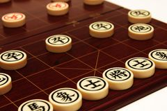 Chinese Chess. A set of Chinese Chess Stock Photography