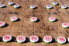 Chinese chess Stock Photography