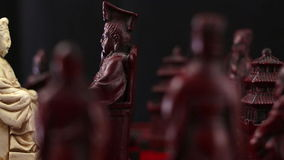 Chinese chess stock footage