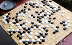 Chinese chess game Royalty Free Stock Photo