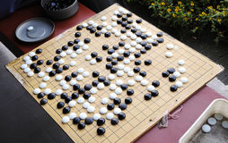 Chinese chess game Stock Image