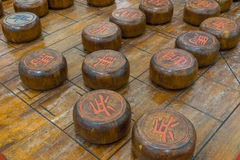 Chinese chess game Stock Image
