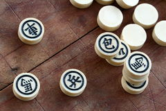 Chinese chess game Stock Photography