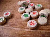 Chinese chess xiangqi Royalty Free Stock Photo