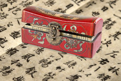 Chinese chest Stock Photography
