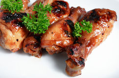 Chinese chicken drumstick bbq  Stock Photo