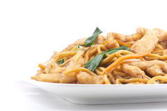 Chinese Chicken Lo Mein Royalty Free Stock Photos