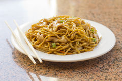 Chinese Chicken Lo Mein Royalty Free Stock Photography