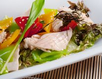 Chinese chicken salad Royalty Free Stock Photography