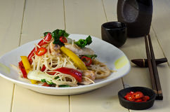 Chinese Chicken stir fry Royalty Free Stock Photography