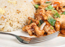 Chinese Chicken Takeaway Stock Photos