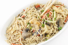 Chinese Chicken and Vegetable Stir fry Royalty Free Stock Image